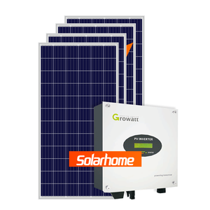 On grid mini solar home system 2kw solar system 2000w solar generator system for home