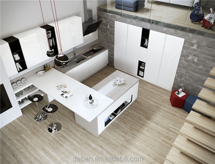 Personalizado arm rio de cozinha pr fabricada modelo - Armarios personalizados ...