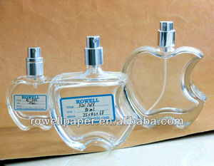 Apple-Shaped Glass Perfume Bottles Natural Spray 100/80/25ml manufacturer made in China