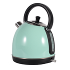 European 1.7L Vintage Appliance Portable Stainless Steel Electric Kettle With Thermometer