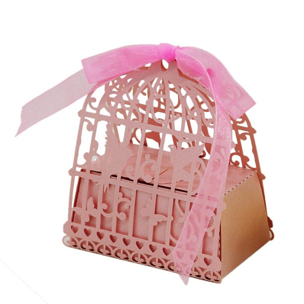 Buy Laser cut chair style candy favor box wedding party gifts ...
