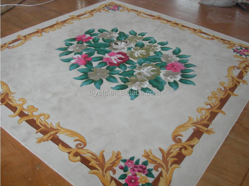 High quality Chinese supplier hand made tufted hall carpet for hotel