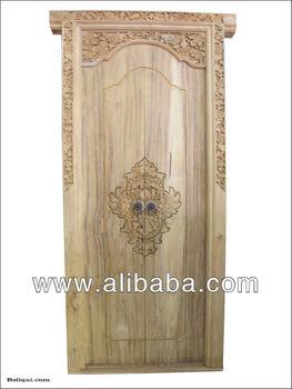 Balinese wood carved door / Bali wood carving doors & Balinese Wood Carved Door / Bali Wood Carving Doors - Buy Wood ...
