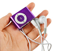 New Mini Clip USB Portable Sport waterproof mp3 player car mp3 player without sd memory card