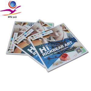 children comic book printing soft cover