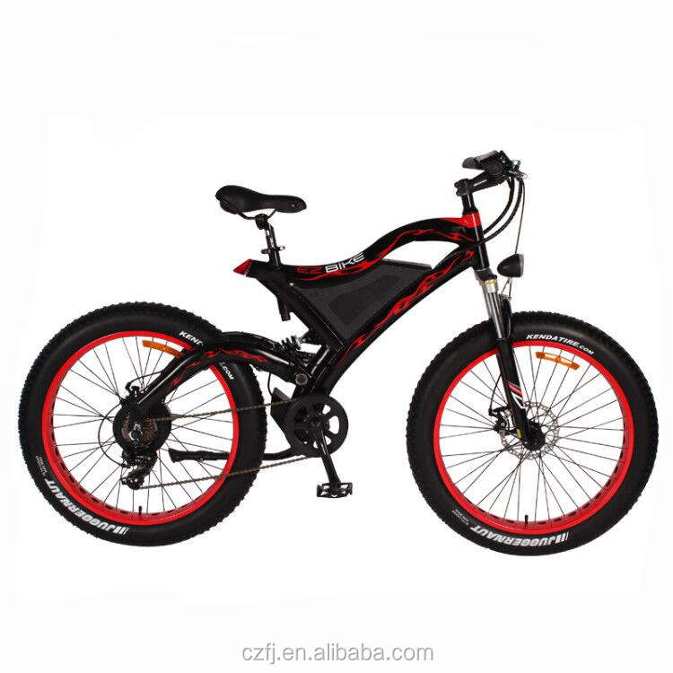 China green power downhill 750w 48v electric mountain bike full suspension fat tire e bicycle for adult, Customized