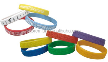 Promotional Silicone Rubber Band Bracelet