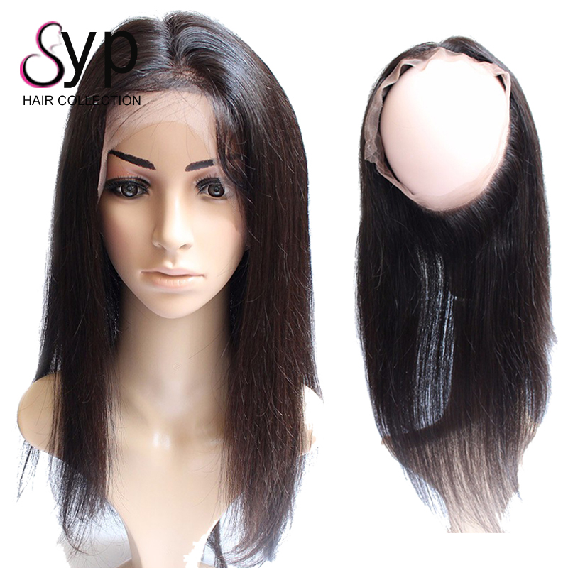 360 Lace Frontal Closure With Bundles Straight Brazilian Virgin Remy Human Hair Extension Hot Items 2017 New Years Products фото
