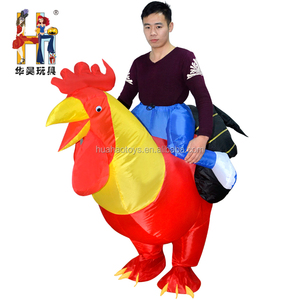 Inflatable Mascot Ride On Big Cock inflatable Giant T-rex Inflatable Costume For Adult