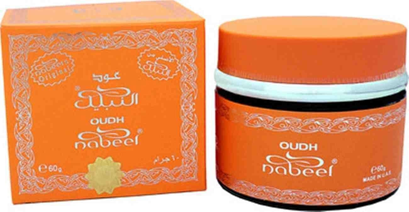 Oudh Nabeel by Nabeel burning bakhoor / incense/ fragrence 60 g wooden chips ;FW892HJT23T411821
