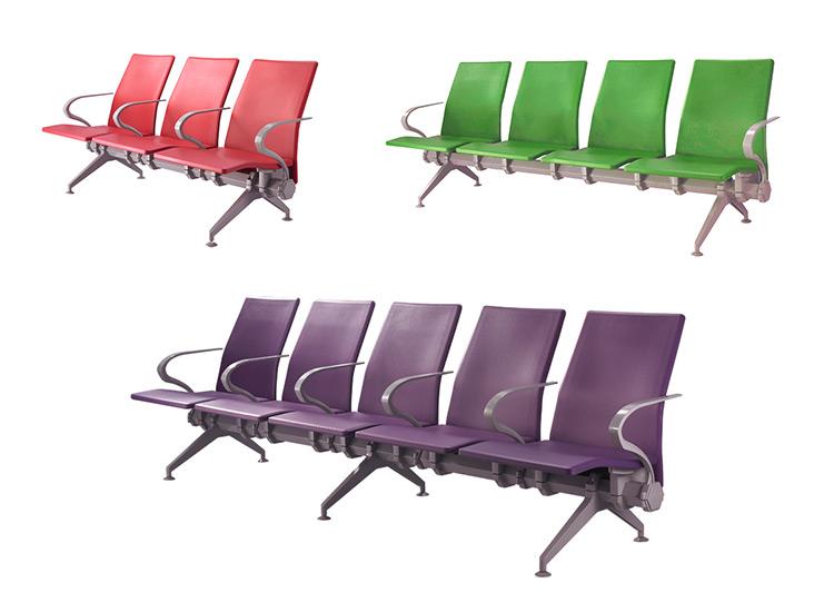 colourful salon waiting chair reception chair SJ9062