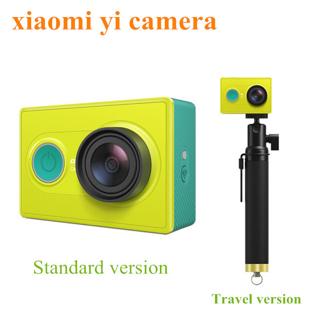Original Xiaomi Yi Action Sport Travel Camera Xiao Yi Smart Camera 16MP