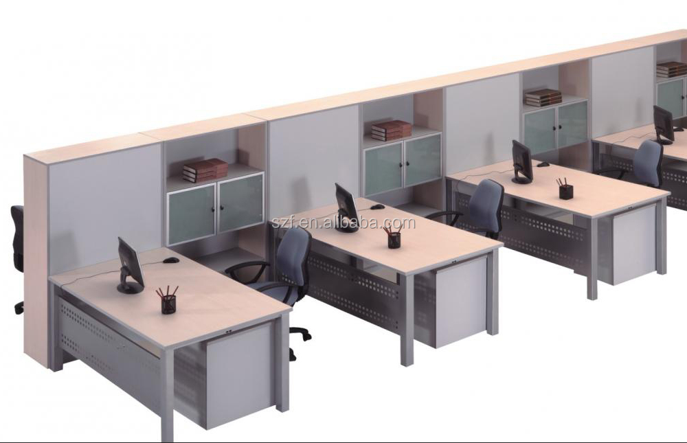 office desk workstation. Modular Furniture Cubes Customized Office Desk Workstation Staff Table Design(SZ-WST605)