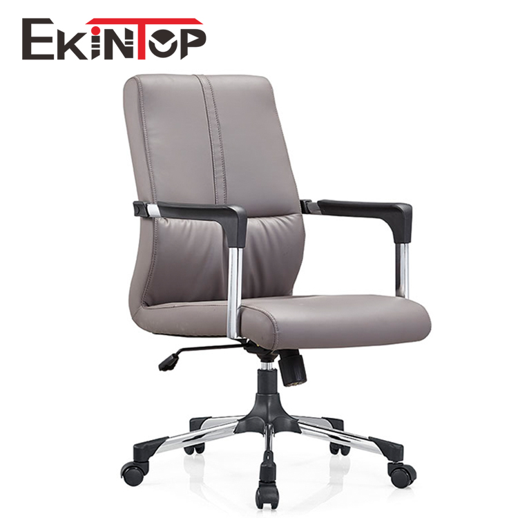 High Back Ergonomic leather Office Chair Used to receive visitors