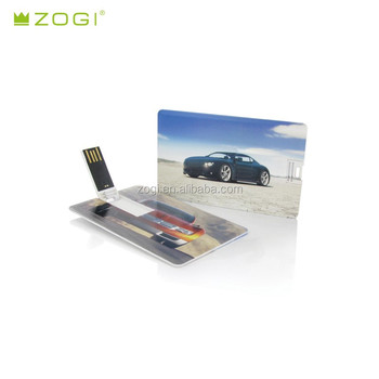 Credit Card Pen Drive 4gb Smart Usb Flash Support Full Logo Printed As Promotional