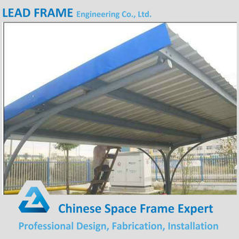 Economical Steel Truss System Metal Roof Canopy