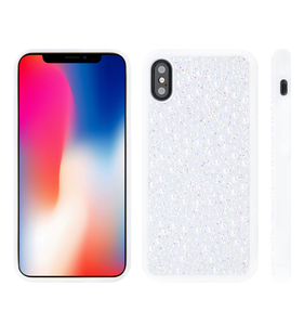top selling latest 5g mobile phone case pearl phone cover for iphone x PC TPU back cover