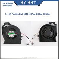SUNON Fan for HP DV6-6000 DV6-6100 MF60120V1-C180-S9A laptop CPU Fan