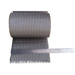 304 316 316L heat resistant balance woven wire Mesh stainless steel conveyor belt