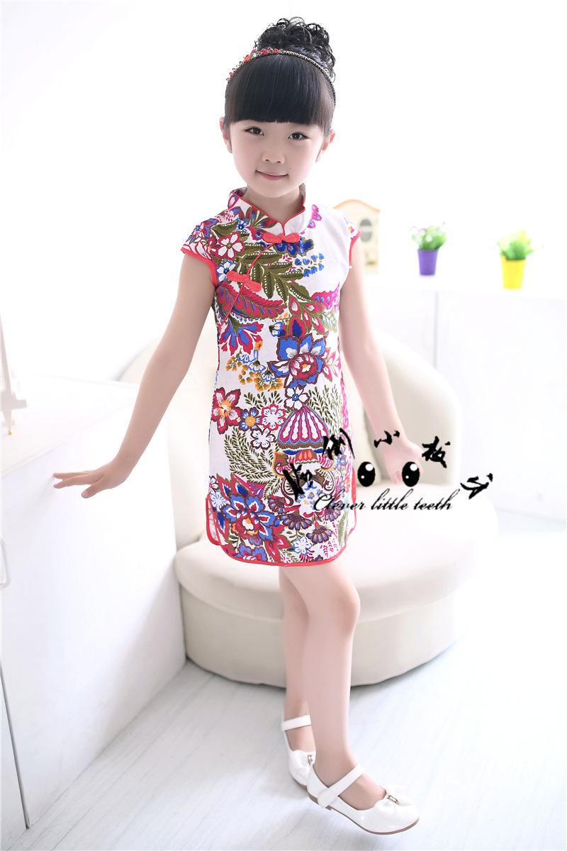 ad6411543b75 Cheap Children Chinese Dress