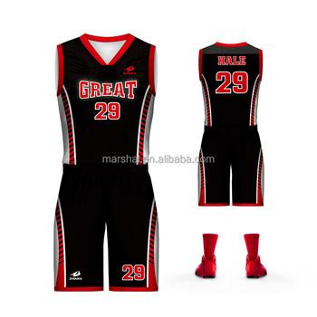 7f5801359 2018 latest basketball jersey design basketball uniform design full sublimation  customization for team or club
