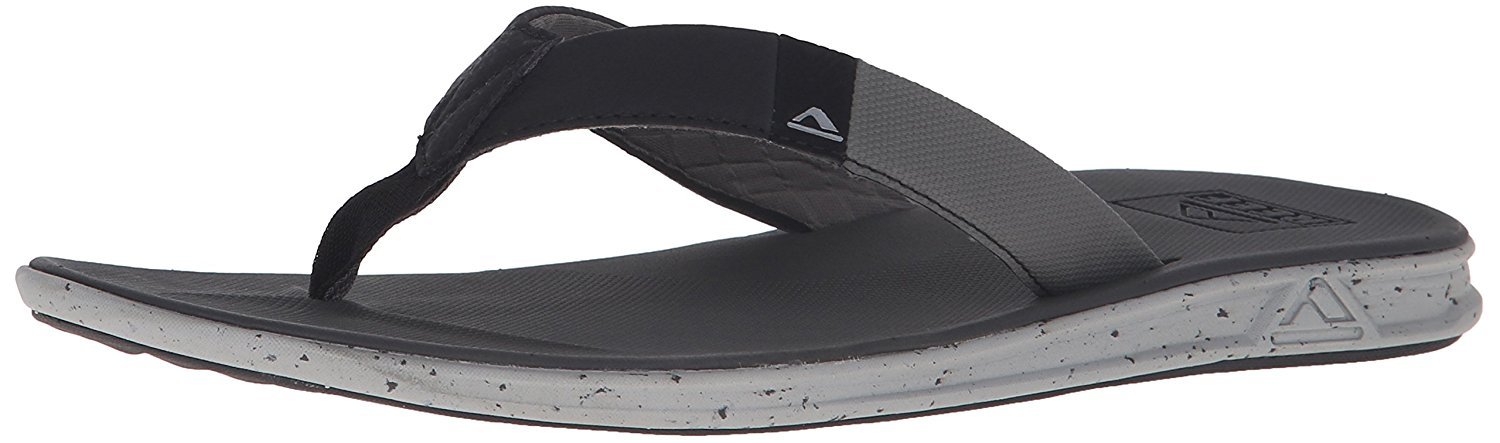 Reef Mens Sandals Slammed Rover   Athletic Flip Flops for Men with Soft Cushion Footbed   Waterproof