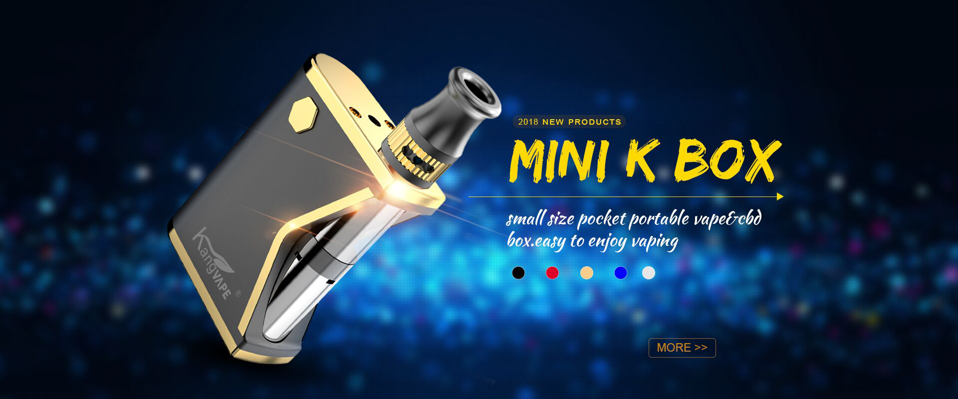 kangvape New Products 2018 Disposable CBD/THC mini k box Oil Vape Pen With Wholesale Price vape kit