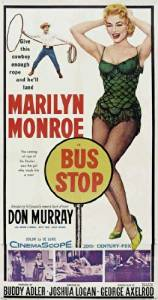 Unframed poster Bus Stop Movie E Marilyn Monroe Arthur O'Connell Hope Lange Don ...27x40inch(69x102cm)