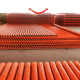 High impact fire resistant electrical cables conduit dn110 orange color cpvc pipes and fittings price used for wiring