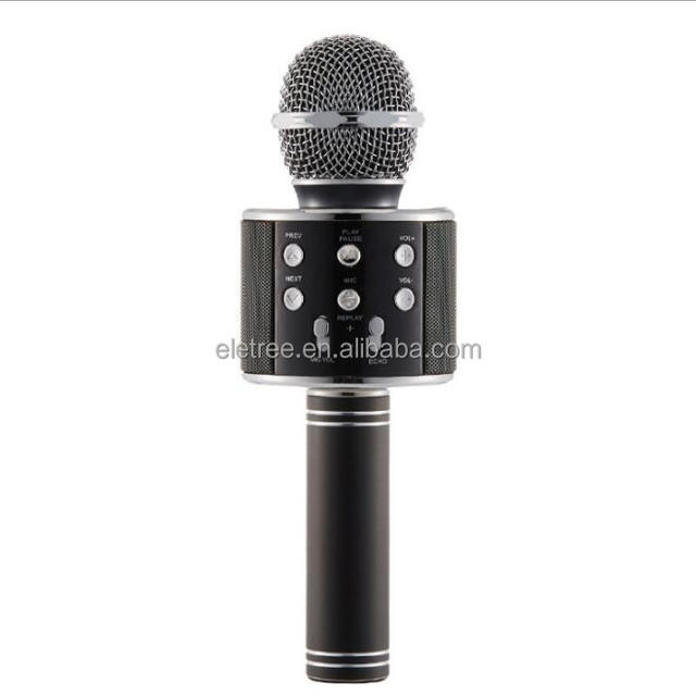 Mini wireless karoke magic function sound mixer camera microphone with record function #WS858