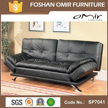 Double Cushion Click Clack Sofa Bed
