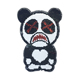 Factory sequin patches funny bear black patterns embroidery patches for clothing decoration