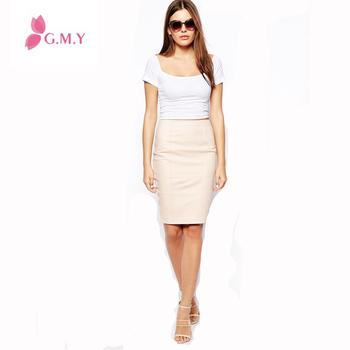 hot selling short high waist skirt women mini leather
