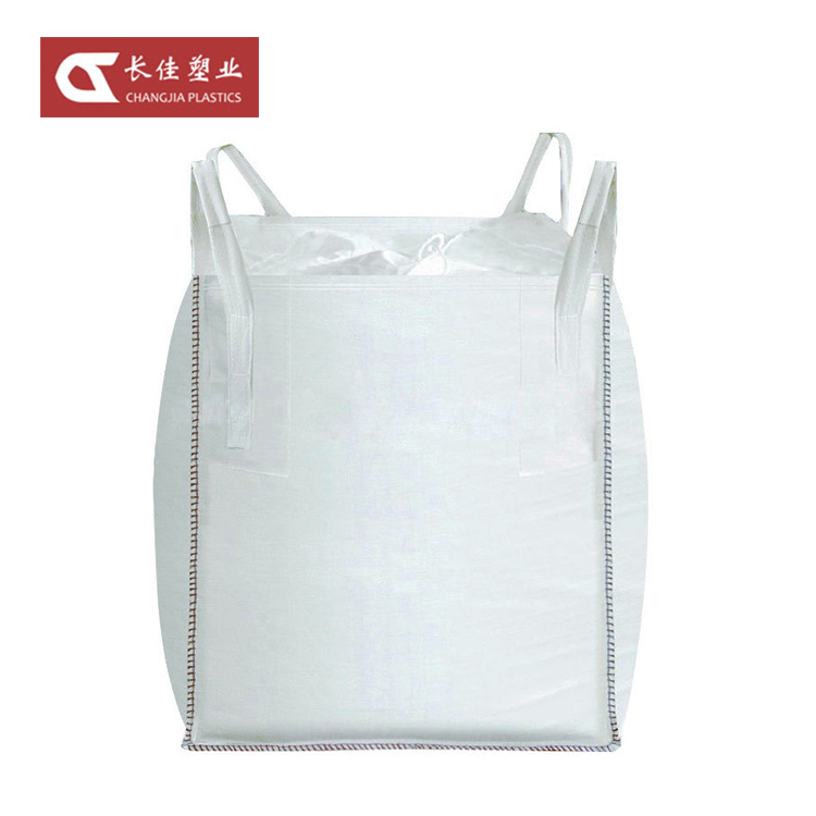 100% new material pp woven fabric ton bag 1000 kg for sand cement 1 ton jumbo bag