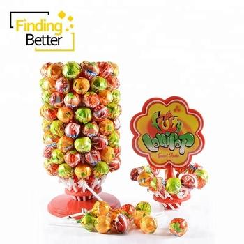 Halal Lollipop Brands Fruit Round Ball Shape Pin Pop Lollipops Tree Candy  Big Bom Bonbon Lollipop - Buy Bonbon Lollipop,Lollipop Pop,Lollipop Brands