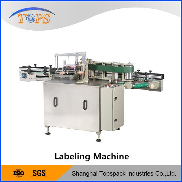 Hi-tech embroidery label machine for round food bottles