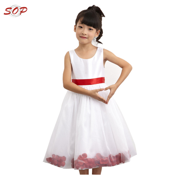 Flower girl dress of 9 year old kids