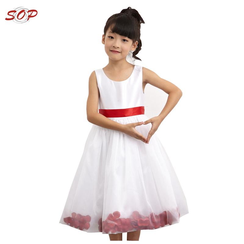 Flower girl dress of 9 year old kids