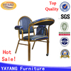 High quality stacking strong movable aluminum muslim prayer chair with wheels in hotel chairs