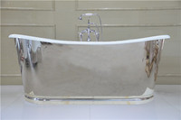 enamel cast iron skirted bathtub NH-1022-4-8K