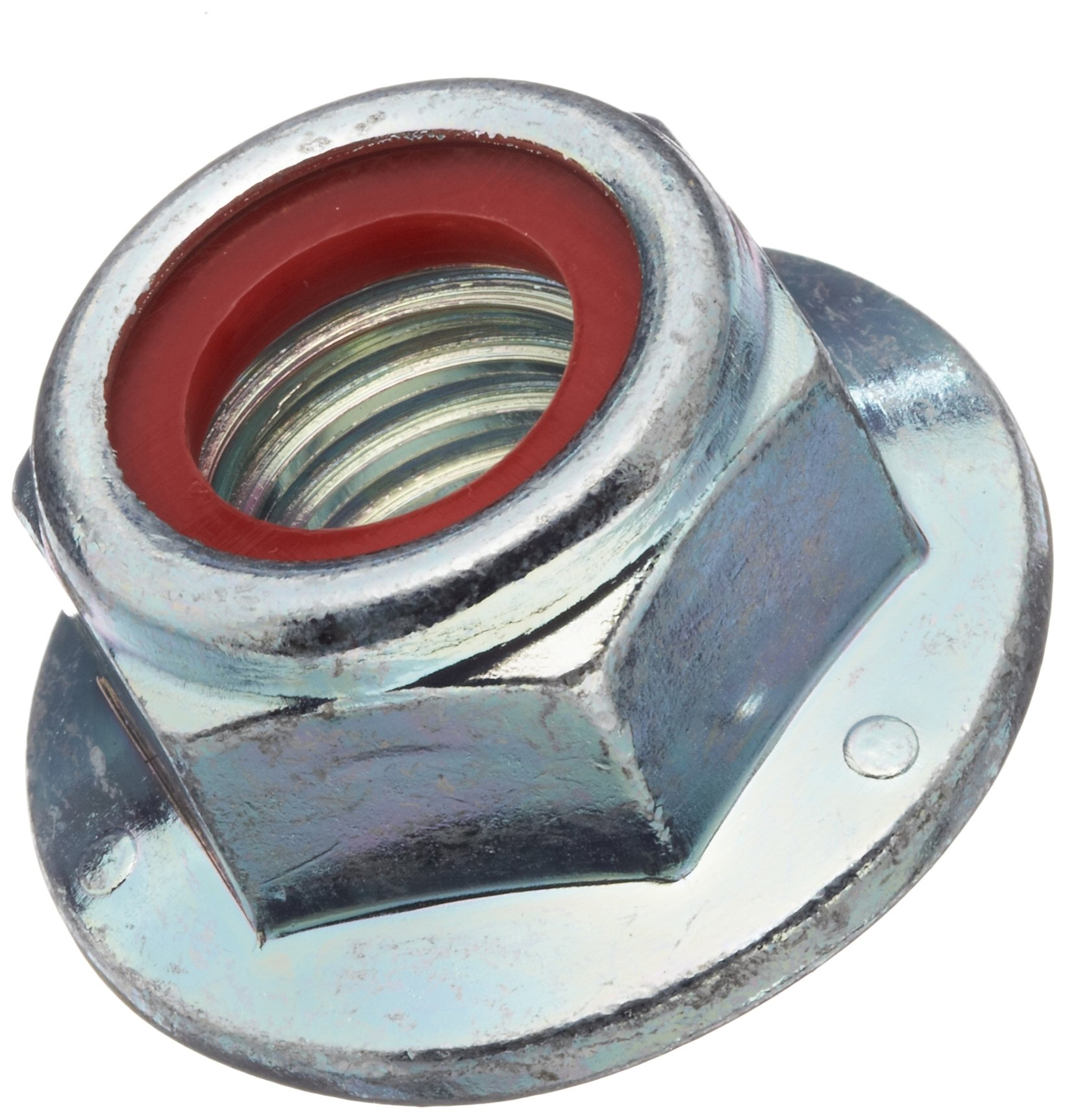 Class 2B 5//16-18 Threads Right Hand Threads Pack of 10 Zinc Plated Finish Steel Wing Nut Grade 2 Self-Locking Nylon Insert