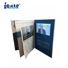 Cote Groothandel Hot Selling 7 Inch Scherm China Video Brochure Met Binnenpagina 'S