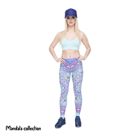 "Women's High Waisted Yoga Capris 21"" Inseam Leggings with Pockets"
