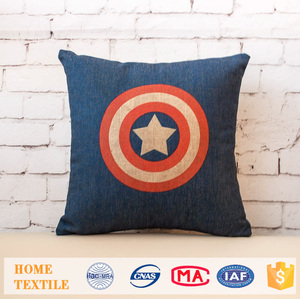 Houseware Creative Superheros Series Printed Pillow Case Home Decor Sofa Cushion Covers Kantha Cushion Cover