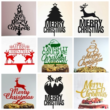 Christmas Cake Toppers.Gold And Silver Mirror Perspex Xmas Party Cake Decorations Acrylic Plastic Merry Christmas Cake Toppers Buy Christmas Cake Toppers Xmas Party