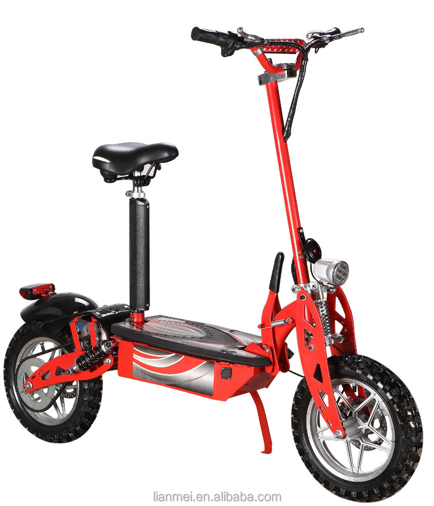 electric e scooter with seat ride on rechargeable battery
