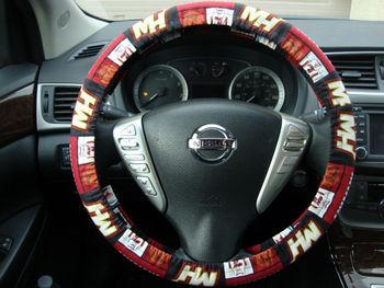 Handmade Steering Wheel Cover Nba Miami Heat Basketball - Buy Car ...