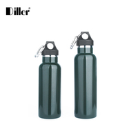 Double walled sealed double wall vacuum insulated stainless steel water bottle