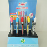 Promotional environmental colored liquid chalk marker pen for office and school