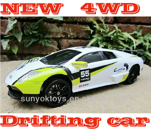 Hot selling! 4WD 6CH 1:18 Drifting rc drift car